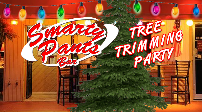 Smarty Pants Bar Tree Trimming Party Featured Image