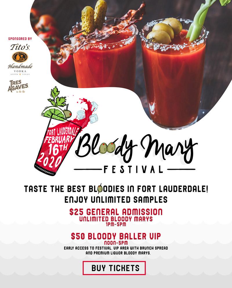 Boody Mary Festival flyer