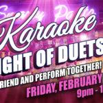 Smarty Pants Bar Night of Duets Karaoke Valentine's Day